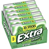 Extra Spearmint Sugarfree Gum, 35 Count (Pack of 6) piece by Wrigley