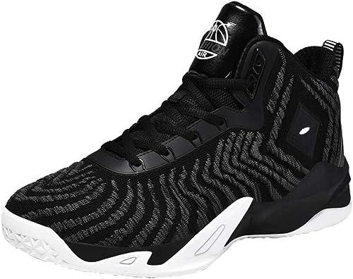 YPPDSD Chaussures de Basket-Ball pour Hommes, Chaussures de Basket-Ball personnelles Baskets Chaussures de Basket légères de précision,A,40