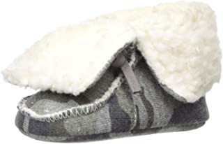 Mud Pie Baby Boys' Camo Sherpa Booties