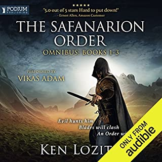 The Safanarion Order Omnibus, Books 1-3                   By:                                                                                                                                 Ken Lozito                               Narrated by:                                                                                                                                 Vikas Adam                      Length: 30 hrs and 25 mins     1,042 ratings     Overall 4.1