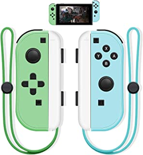 SINGLAND Joy Con Wireless Controller Replacement for Switch, Left&Right Remote with Wrist Strap Support Wake-up Function