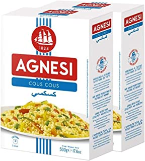 Agnesi Cous Cous 500g, Pack of 2, Made in Italy