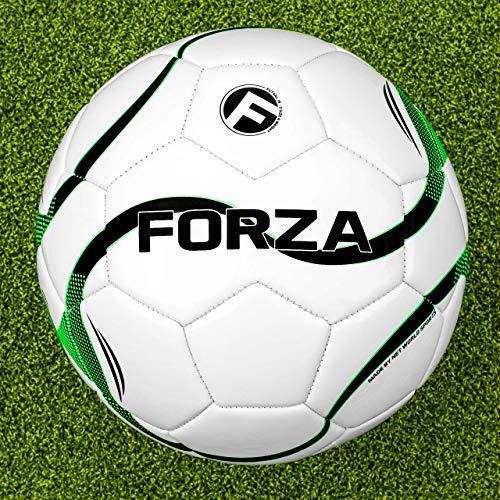 FORZA Futsal Fußball Bälle - Größe 3 oder 4 Futsal Bälle für Turniere und Praxis (Packung 3, Größe 3)