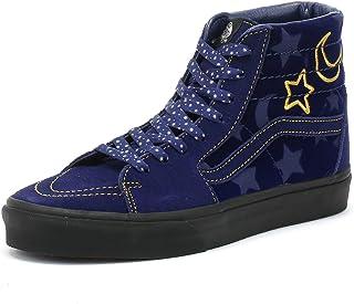 48c2856481 Vans Disney SK8-Hi Sorcerer s Apprentice Blue Sneakers