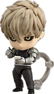New Q Version Nendoroid #645 One Punch Man Genos Super Movable Edition Figure PVC Action Figure Gift Model Kids Toys 10cm
