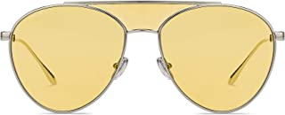 Sunglasses Jimmy Choo Ave/S 0DYG Gold Yellow/HO clear mirror lens