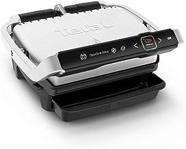 Tefal Optigrill Elite GC750D | Kontaktgrill | Elektrischer Indoor-Grill | 12 automatische Grillprogramme | Intuitiver Sensor | Grillboost-Funktion | Spülmaschinengeeignetes Zubehör | Rezeptbuch App