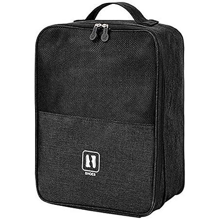 Portascarpe da viaggio, borse porta scarpe da viaggio, può essere combinato con una valigia, borse impermeabili portatili con cerniera