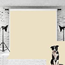 Kate 5x7ft Cream Color Photography Backdrop Pure Solid Background Photographer Photo Studio Prop