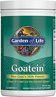 Garden of Life Goat Protein Powder - Goatein Pure Goat's Milk Protein Powder, 13g Complete Protein & 5g Carbs per Serving,...