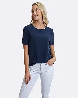 The Fable Women's Deep Sea Silk T-Shirt