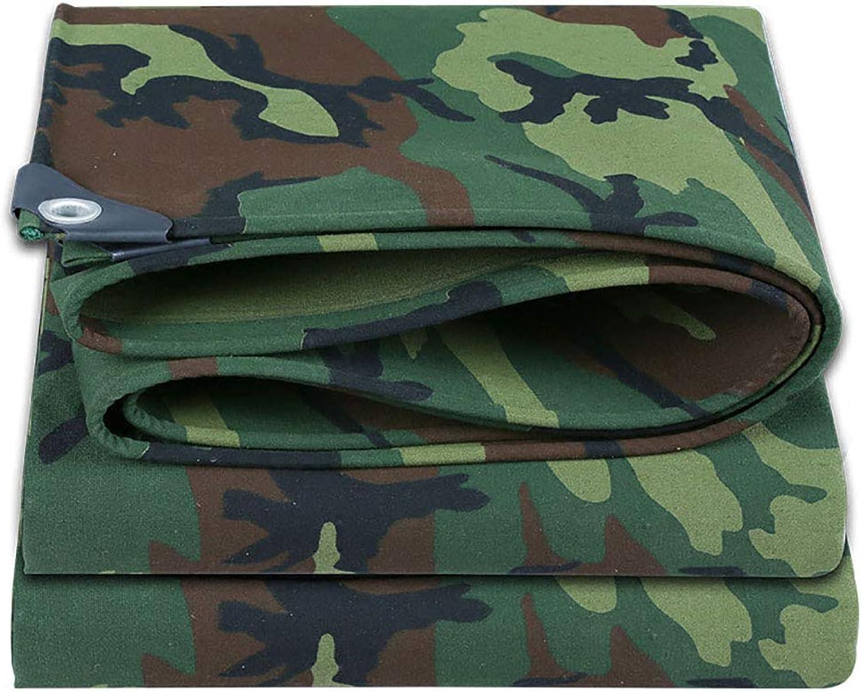 Plane Wasserdichte Tarnung Canvas Mit Ösen dicken Stoff Tuch für Station und Hafen Outdoor B07JG23V68  Ausgezeichnetes Handwerk