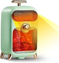 DGLIYJ Calentador 3D Retro, Power pequeños electrodomésticos de Ahorro de 3 Hot Velocidad Asar Baño Estufa