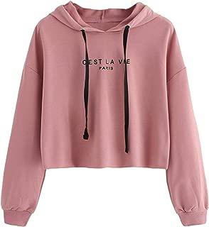 Best aesthetic pink hoodie Reviews