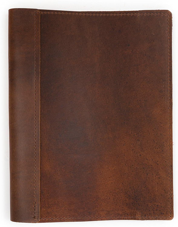 directo de fábrica Rustico Refillable Sketchbook Large Large Large Saddle  hermoso