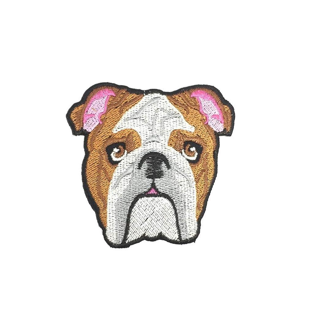 Neru Shop Iron On Patch Bulldog 1pcs 3x3