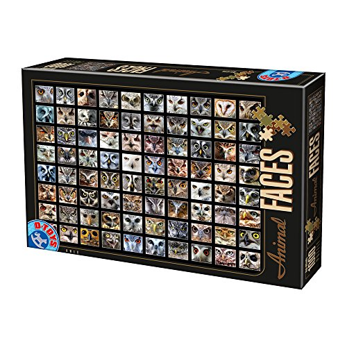 Unbekannt Puzzle 1000 Teile - Collage - Eulen