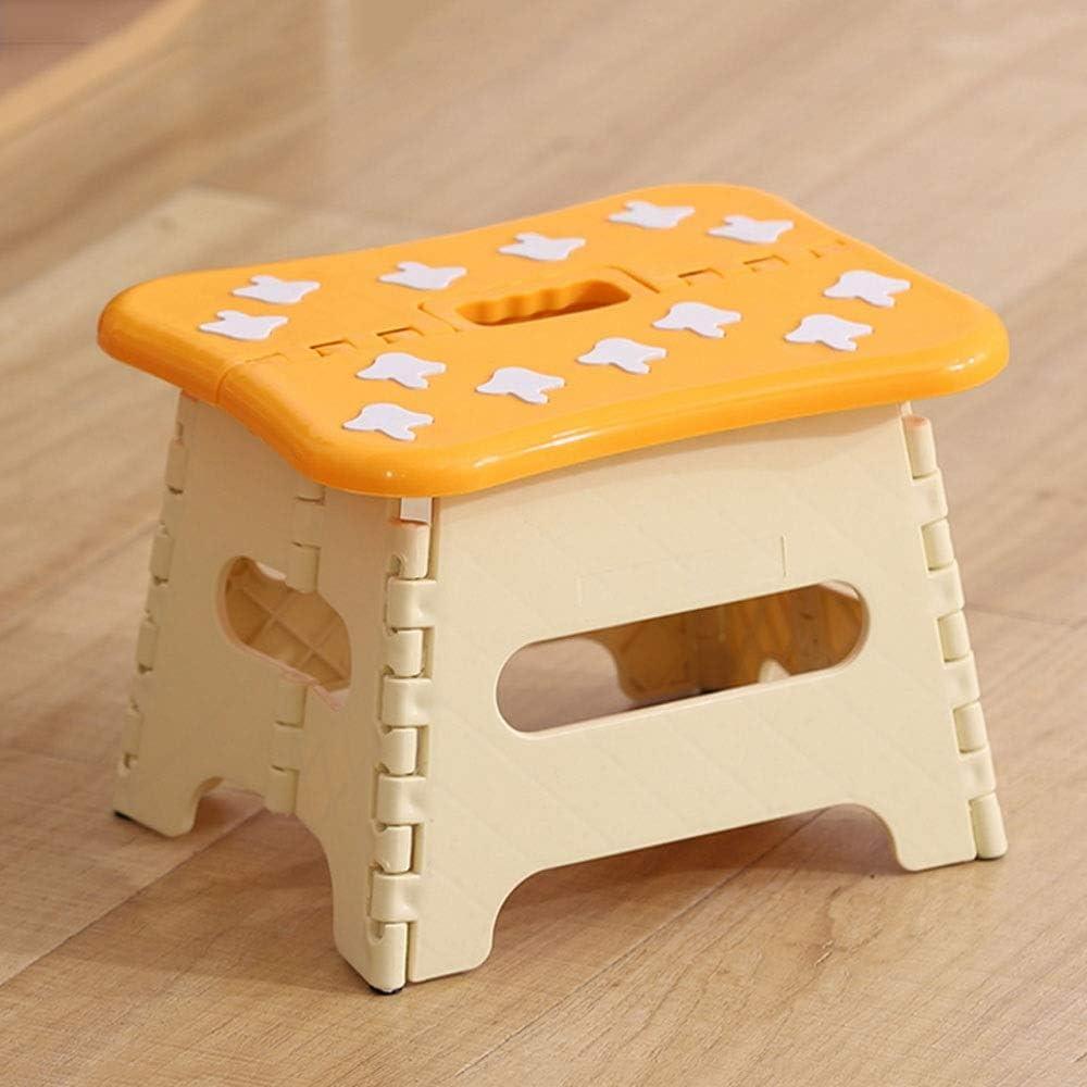 MUMUMI Selling rankings Plastic Max 77% OFF Stool Folding Foldin Macaron Chairs