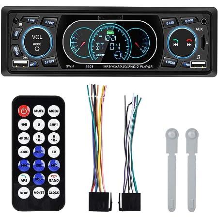 Zerone 4 60w Autoradio Stereo Single Din Dual Usb Elektronik