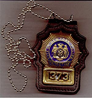 nypd prop badge
