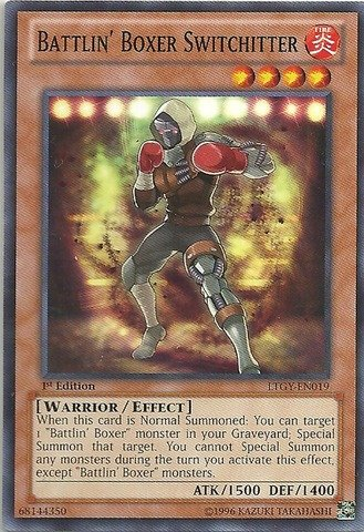 YU-GI-OH! - Battlin39; Boxer Switchitter (LTGY-EN019) - Lord of The Tachyon Galaxy - Unlimited Edition - Common