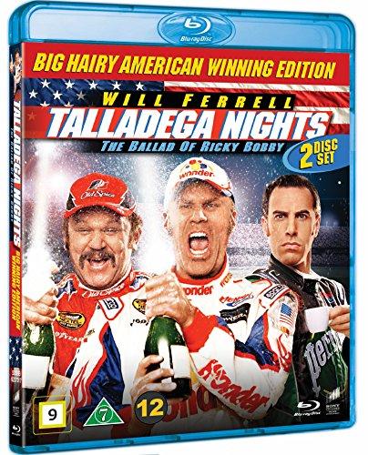 Talladega Nights - 10th anniversary (2-disc) (Blu-ray Region B) Will Ferrell (Ricky Bobby - König der Rennfahrer)