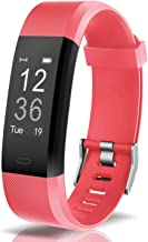 Arbily Fitness Tracker Activity Tracker Sports Watch Smart Bracelet Pedometer Fitness Watch with Heart Rate Monitor/GPS/Step Counter/Sleep Monitor Smart Wristband for Women Men and Kids