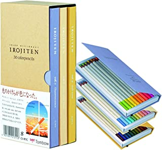 トンボ鉛筆 色鉛筆 色辞典 第三集 30色 CI-RTC