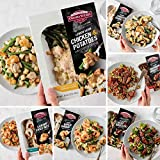 2 (8 oz. pkg.) Single Serve Meal: Lemon Herb Chicken & Potatoes | 1 (8 oz. pkg.) Single Serve Meal: Shrimp Fried Rice 1 (8 oz. pkg.) Single Serve Meal: Lemon Garlic Shrimp | 2 (8 oz. pkg.) Single Serve Meal: Asian-Style Beef & Broccoli 2 (8 oz. pkg.)...