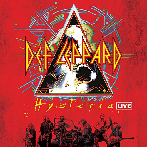 Hysteria Live (Vinyl Clear Crystal 2X180Gr.)