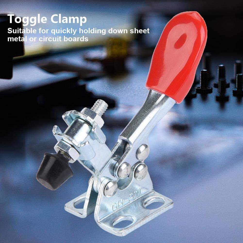5Pcs Vertical Type Toggle Clamps Hand Holding Quick Release Tool