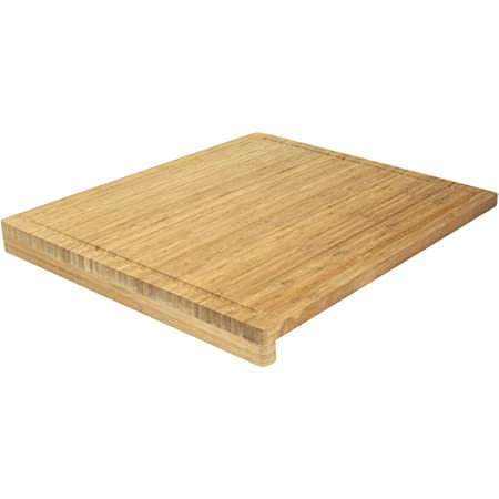 Ambiance Nature 508815 Planche à Découper Bambou avec Rebord 52,5 x 46 x 1,9 cm