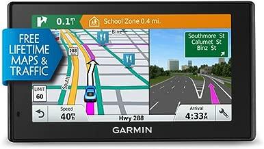 Garmin DriveSmart 60LMT 6in Portable GPS Navigator w/ Lifetime Maps & Traffic (Renewed)