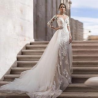 ztmyqp Simplicidad Elegante Vestido de Novia Cariño Sexy Encaje Romántico Sirena Simplicidad Elegante Vestido de Novia Tul...