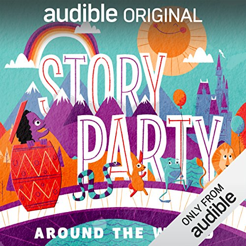 Story Party: Around the World audiobook cover art