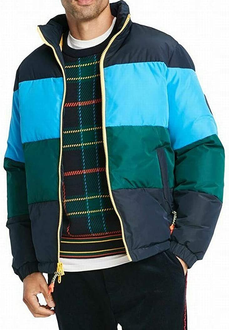 Tommy Hilfiger Men's Colorblock Puffer Jacket