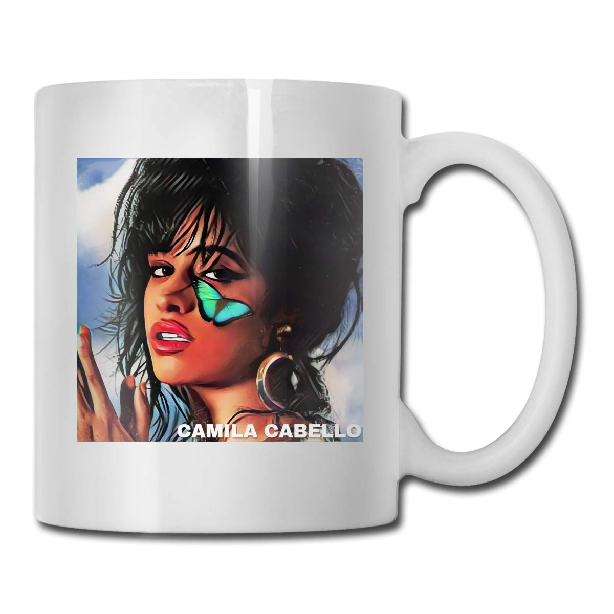 Camilla Cabello Ceramic Tea Coffee Mug Coaster Gift Set