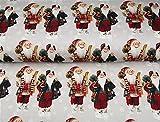 Jersey Weihnachten–Weihnachtsmann grau–Digital