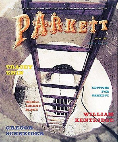 Parkett 63: Tracey Emin / William Kentridge / Gregor Schneider: Collaborations
