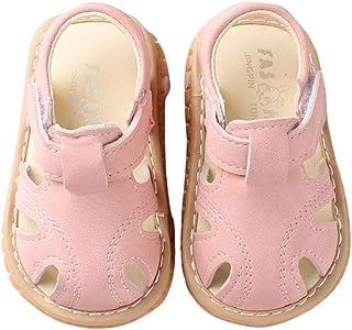 7ab8147c066 Miyanuby Sandalias Bebe Niño Verano Suela Suave Antideslizante Primeros  Zapatos para Niños 0-30 Meses