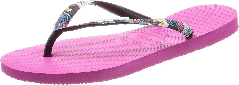 Havaianas Slim Strapped Flip Flops - Hollywood pink