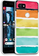 HELLO GIFTIFY Phone Case Compatible with Google Pixel 2 XL (6.0 inch 2017) Clear Soft TPU Gel Protective Rubber Cover, Rai...