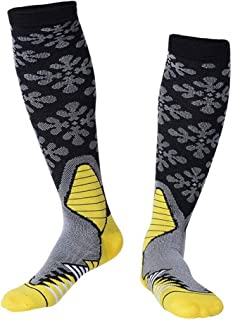 Compression Socks for Women Men, Knee High Running Socks Unisex Outdoor Sports Cycling Socks