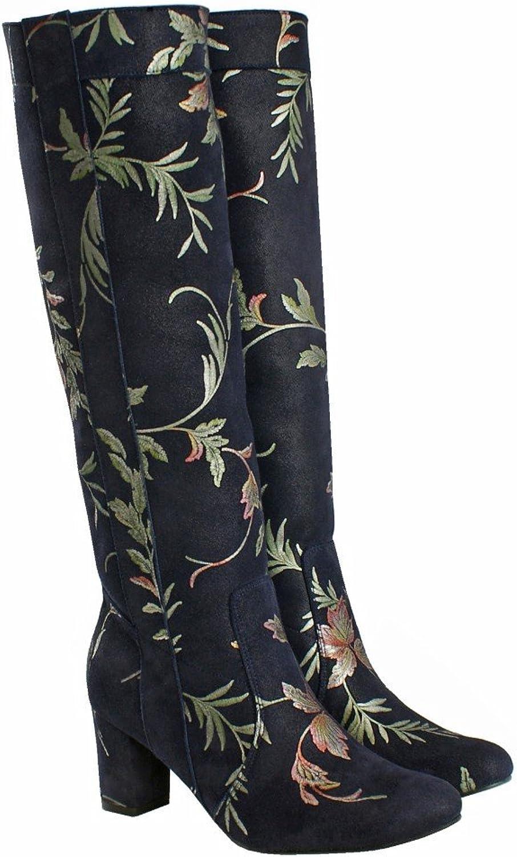 BOSCCOLO 4701 Stiefel Blatt-Design, Stiefel Leaf Leaf Design, Stiefel Feuille Design  Beste Preise und frischeste Styles