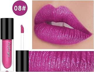 Sparkly Lipstick Colorful Makeup Glossier Glitter Metallic Lip Gloss Colorstay Liquid Lipgloss Purple