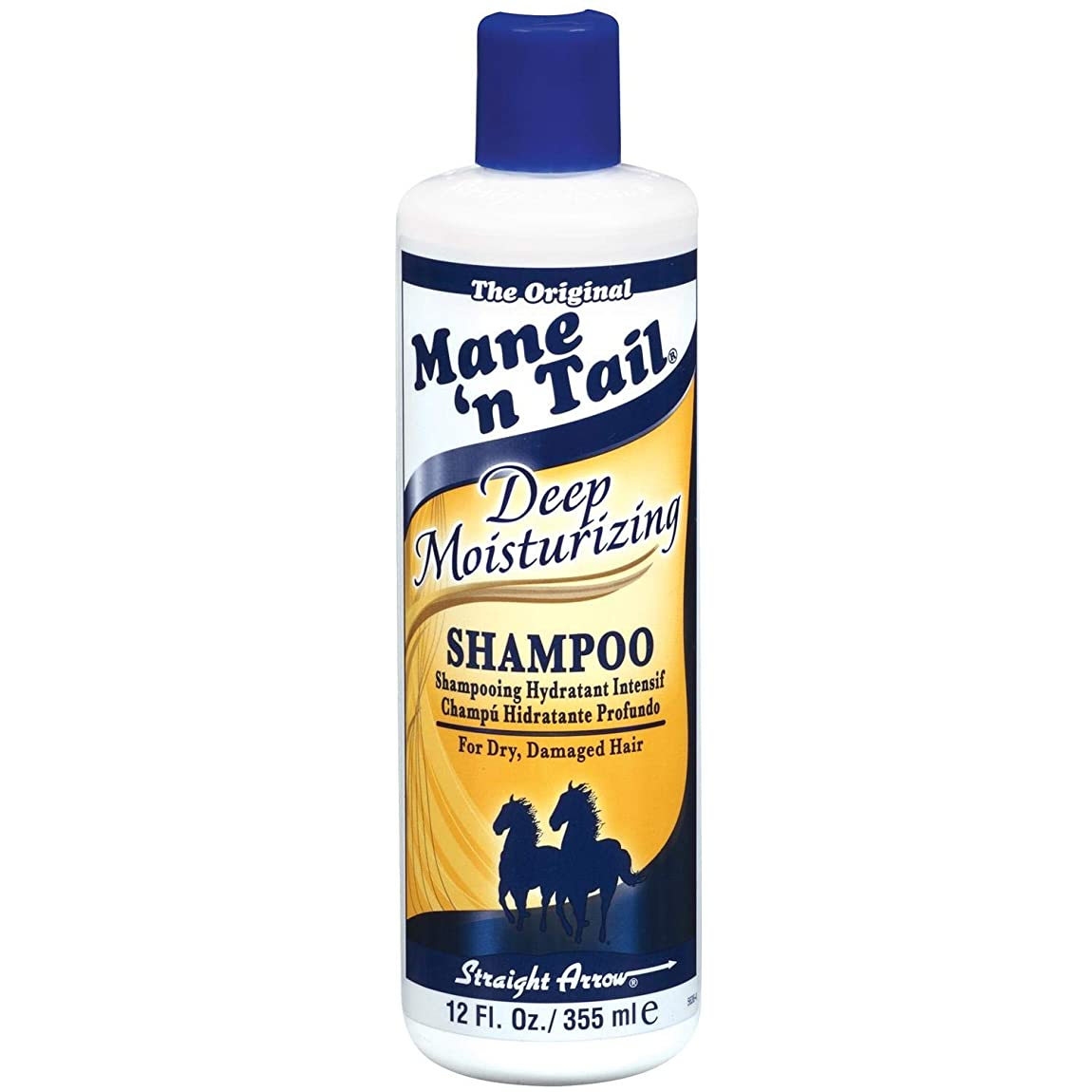 学校教育大使館ペストリー(馬のたてがみ メインテイル ディープ モイスチャライジング 乾燥髪?傷んだ髪用 シャンプー)Mane'n Tail Deep Moisturizing Shampoo (並行輸入品) [並行輸入品]