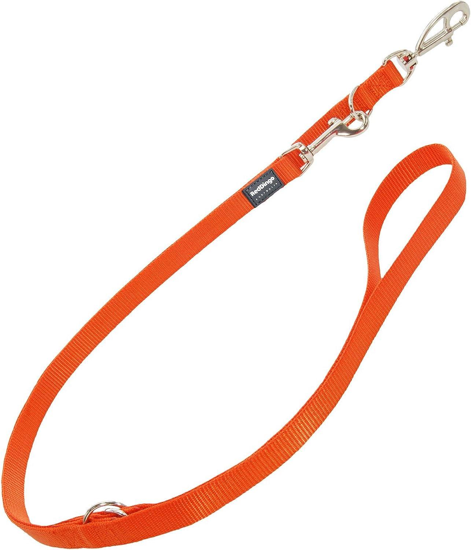 Red Dingo MultiPurpose Dog Lead, Large, orange