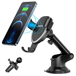 CHOETECH Fast Gravity Wireless Car Charger Air Vent Car Mount 7.5W Compatible with iPhone Xs/Xs Max/Xr, iPhone X/iPhone 8/...