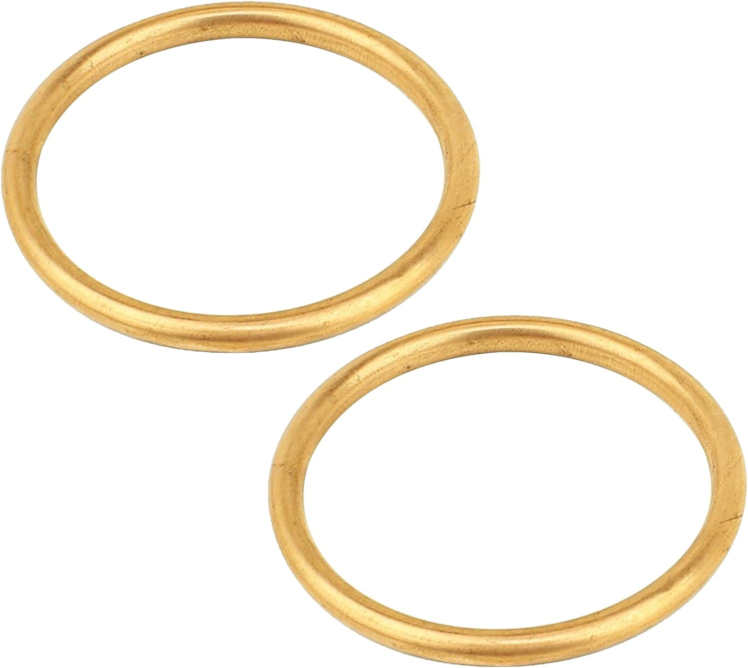 Caltric Exhaust Pipe Gaskets Compatible Shad Vt1100C3 With Max 70% OFF Honda Our shop OFFers the best service
