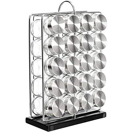 Amazon Basics 20-Jar Spice Organizer Rack